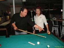 Pool Clinic at Table Steaks East